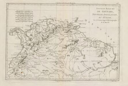 Nouveau Royaume De Grenade Nouvelle Andalousie Et Guyane.