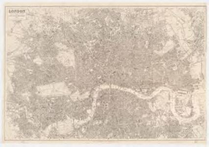 London : drawn and engraved expressly for the post office directory