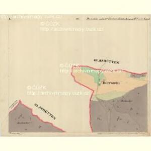 Dörrstein - c7558-1-001 - Kaiserpflichtexemplar der Landkarten des stabilen Katasters