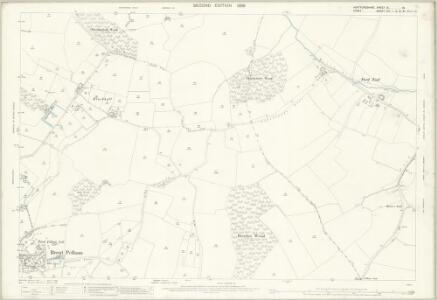 Hertfordshire IX.16 (includes: Brent Pelham; Clavering; Meesden) - 25 Inch Map