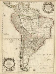 Composite: Terre Ferme, Perou, Bresil, Amazones, Paraguay, Chili.