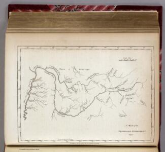 Map of the Tennessee Government.