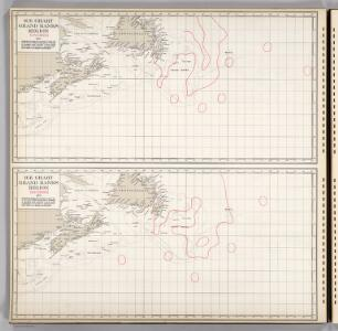 Ice Chart, Grand Banks Region, November, December.