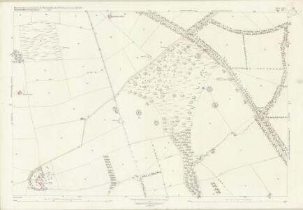 Worcestershire LVII.7 (includes: Blockley; Broadway; Chipping Campden) - 25 Inch Map