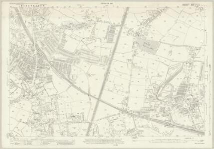 Lancashire CXI.11 (includes: Manchester; Stockport) - 25 Inch Map