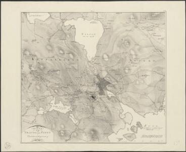 Karta öfver Trakten omkring Fahlun i Petridelauniskt afseende