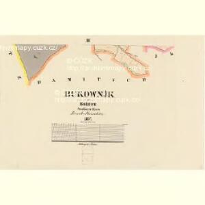Bukownjk - c0676-1-003 - Kaiserpflichtexemplar der Landkarten des stabilen Katasters