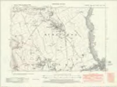 Yorkshire LXXVII.NE - OS Six-Inch Map