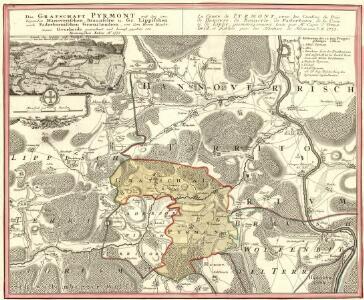 Die Grafschaft Pyrmont
