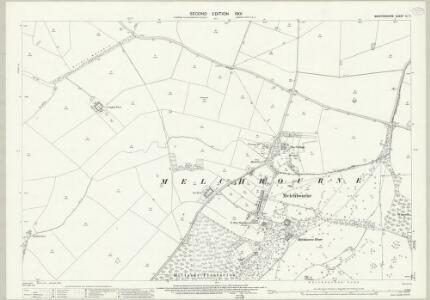 Bedfordshire IV.7 (includes: Melchbourne and Yelden) - 25 Inch Map
