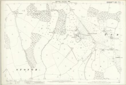 Oxfordshire L.8 (includes: Pishill with Stonor; Turville; Watlington) - 25 Inch Map