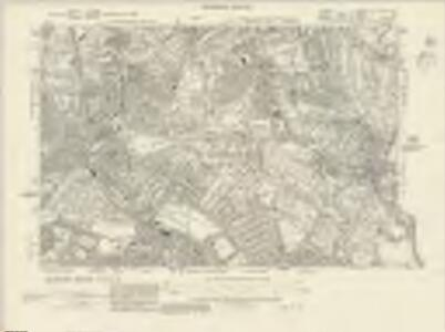 Surrey VIII.SW & SE - OS Six-Inch Map