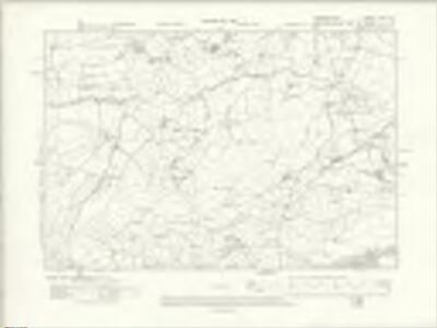 Denbighshire XXXI.NE - OS Six-Inch Map