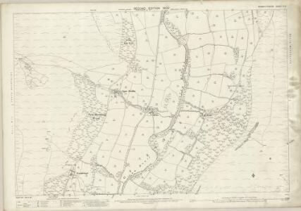 Monmouthshire III.3 (includes: Crucornau Fawr) - 25 Inch Map