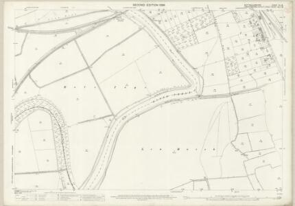 Nottinghamshire VII.16 (includes: Bole; Gainsborough; Lea; Saundby) - 25 Inch Map
