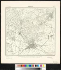 Meßtischblatt 2367 : Paderborn, 1907