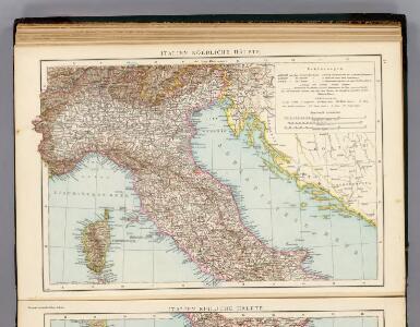 Italien nordliche Halfte.