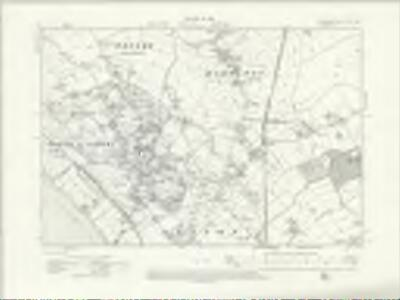 Cheshire XXII.NW - OS Six-Inch Map