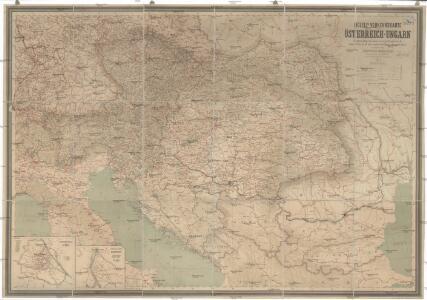 Hölzels Verkehrskarte von Österreich-Ungarn