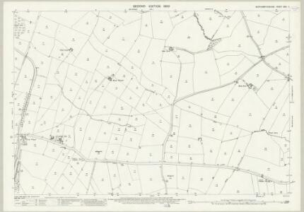 Northamptonshire XXIX.11 (includes: Crick; Watford; West Haddon; Winwick) - 25 Inch Map