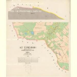 Stary Ehrenberg - c7264-2-001 - Kaiserpflichtexemplar der Landkarten des stabilen Katasters