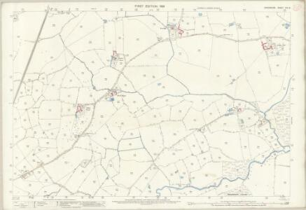 Shropshire XIV.16 (includes: Wem Rural; Wem Urban) - 25 Inch Map