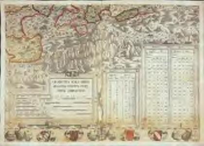 Inclitae Bernatum urbis, cum omni ditionis suae agro et provinciis delineatio chorographica, 15/16