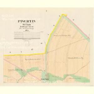 Pischtin - c5791-1-001 - Kaiserpflichtexemplar der Landkarten des stabilen Katasters