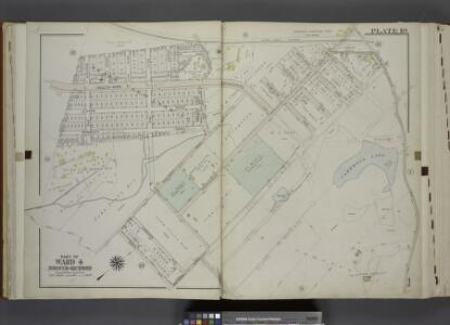 Part of Ward 4. [Map bound by Staten Island Rail      Road, Fingerboard Road, Old Town Road, Scott Ave, Rambler Road, Benton Ave]