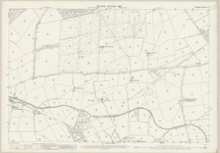 Durham XLI.6 (includes: Hamsterley; Lynesack And Softley; South Bedburn) - 25 Inch Map