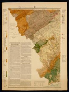 Mapa geológico y topográfico de la provincia de Barcelona: región tercera ó del río de Foix y la Llacuna detallada / geologia por el canonigo Dr. D. Jaime Almera; topografia por Eduardo Brossa; grabado por E. Brossa