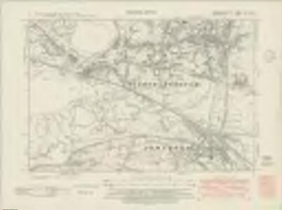 Carmarthenshire LIX.SW - OS Six-Inch Map