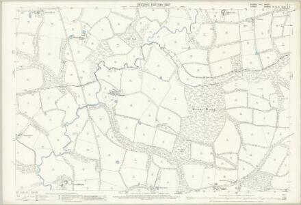 Sussex II.11 (includes: Ockley; Warnham) - 25 Inch Map