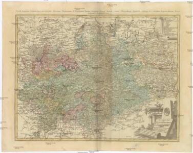 Der südliche Theil des OBER-SAECHSISCHEN KREISES die Chur- und Fürstl. Sächsische und andere hieher gehörige Länder vorstellend