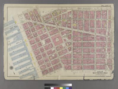 [Plate 4: Bounded by Spring Street, Hudson Street, Broome Street, Centre Street, Pearl Street, Thomas Street, Hudson Street, Jay Sreet and [Hudson River, Piers 22-34] West Street.]