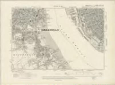Lancashire CXIII.NW - OS Six-Inch Map