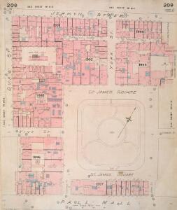 Insurance Plan of London Vol. IX: sheet 209