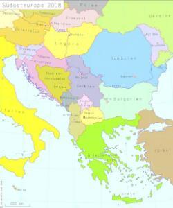 Südosteuropa 2008