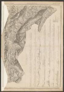 Topographische Karte des Kantons Luzern
