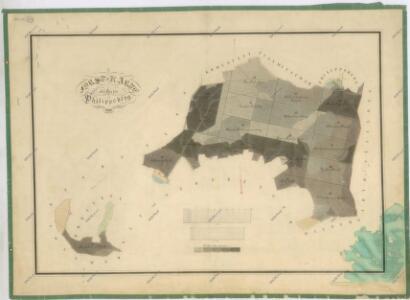 Hospodářská mapa revíru Filipova Hora