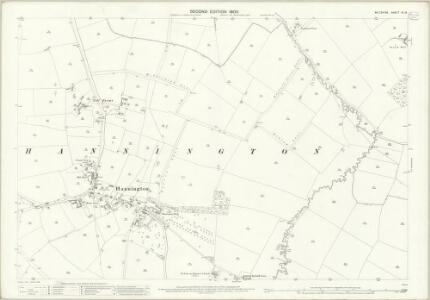 Wiltshire VI.13 (includes: Hannington; Highworth) - 25 Inch Map