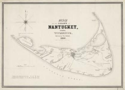 Map of the island of Nantucket : including Tuckernuck