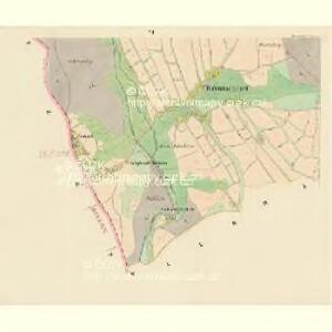 Böhmischdorf - c0963-1-006 - Kaiserpflichtexemplar der Landkarten des stabilen Katasters