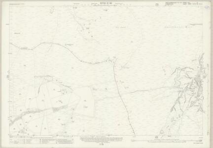 Northumberland (New Series) CXI.9 (includes: Allendale Common; Alston With Garrigill) - 25 Inch Map