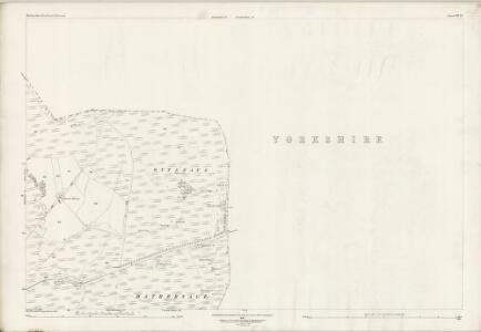 Derbyshire VII.12 (includes: Bradfield; Derwent; Outseats) - 25 Inch Map
