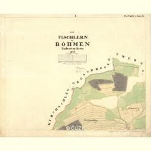 Tischlern - c6969-1-001 - Kaiserpflichtexemplar der Landkarten des stabilen Katasters