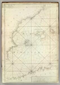 Carte De La Mer Mediterranee.  II.