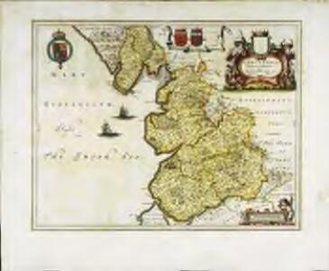 Lancastria palatinatvs anglis Lancaster et Lancas Shire