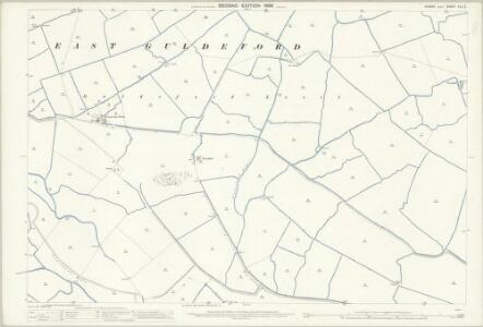 Sussex XLV.8 (includes: East Guldeford; St Thomas The Apostle Winchelsea) - 25 Inch Map