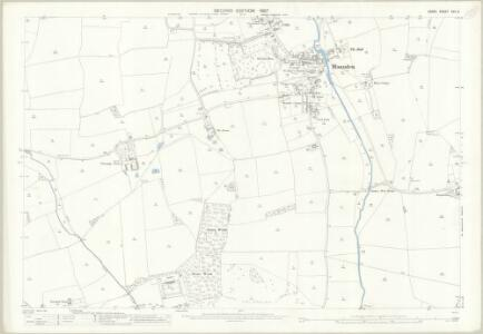 Essex (1st Ed/Rev 1862-96) XXII.3 (includes: Manuden; Stanstead Mountfitchet) - 25 Inch Map